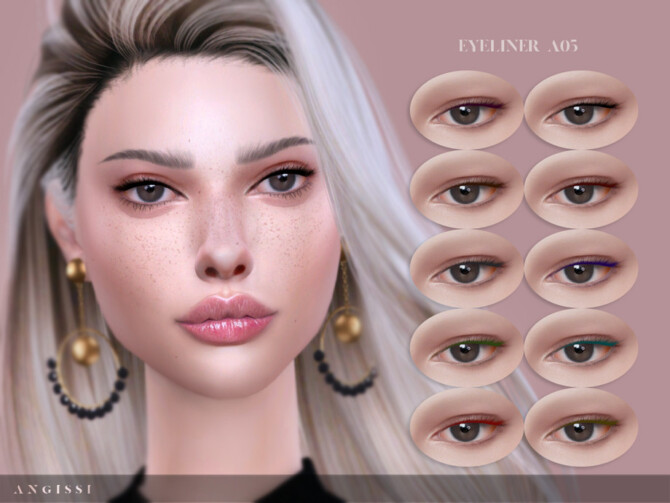 Sims 4 Eyeliner A05 by ANGISSI at TSR