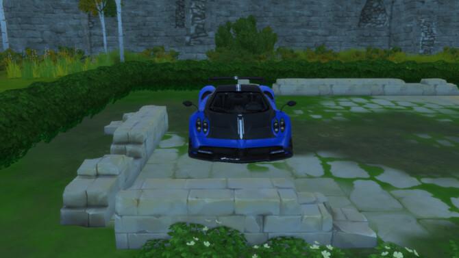 Sims 4 2016 Pagani Huayra BC at LorySims