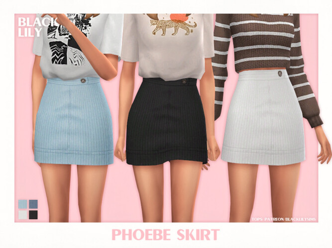 Phoebe Skirt By Black Lily