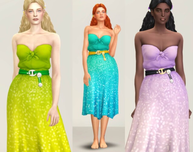 Seashell Wavvve Twinkling Dress
