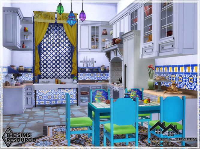 Marsala Kitchen By Marychabb