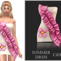 Summer Dress C428 By Turksimmer