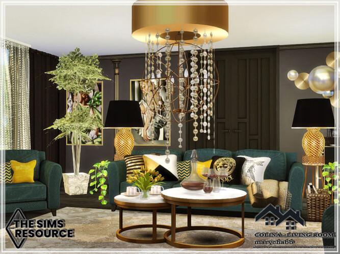 Colina Living Room By Marychabb