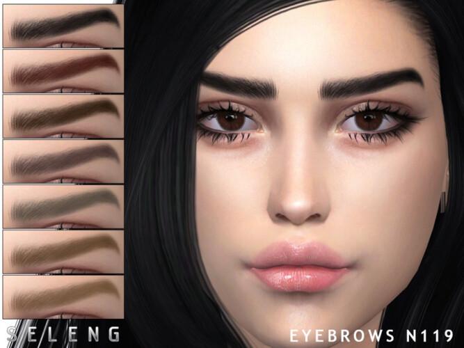 Eyebrows N119 By Seleng