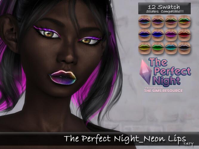 Neon Lips By Tatygagg