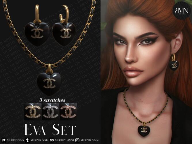 Eva Set: Earrings & Necklace