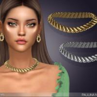 Paulina Necklace By Feyona