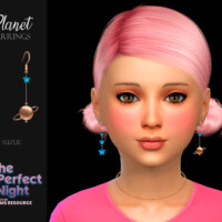 Planet Earrings Child By Suzue