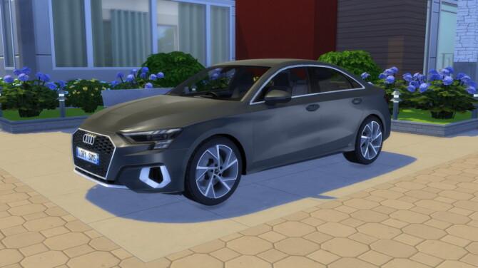 Sims 4 2021 Audi A3 Sedan at LorySims