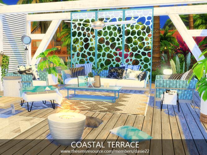 Coastal Terrace By Dasie2