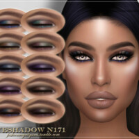 Frs Eyeshadow N171 By Fashionroyaltysims