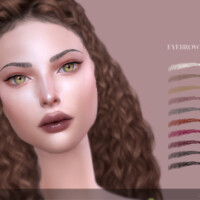Eyebrows N29 By Angissi