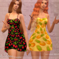 Fruits Dress By Dissia