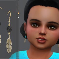 Liberty Earrings | Toddlers Version By Sugar Owl