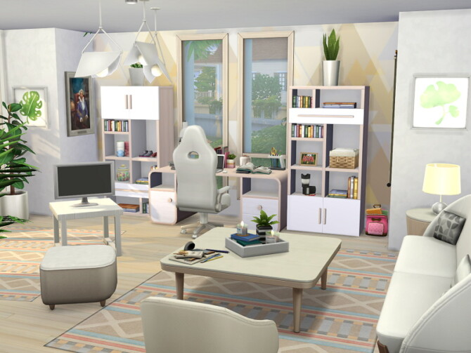 Sims 4 Modern Eco House by Flubs79 at TSR