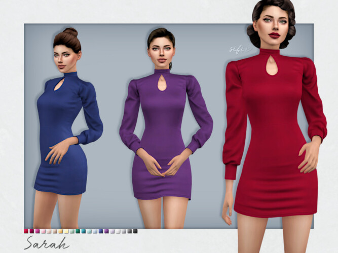 Sarah Dress By Sifix