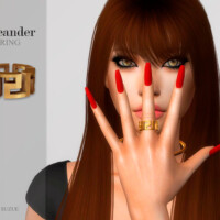 Meander Ring By Suzue