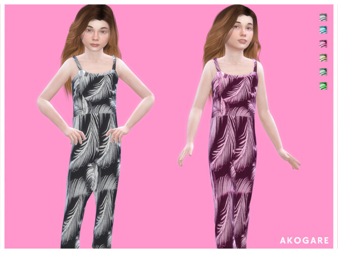 Overalls No.03 By Akogare