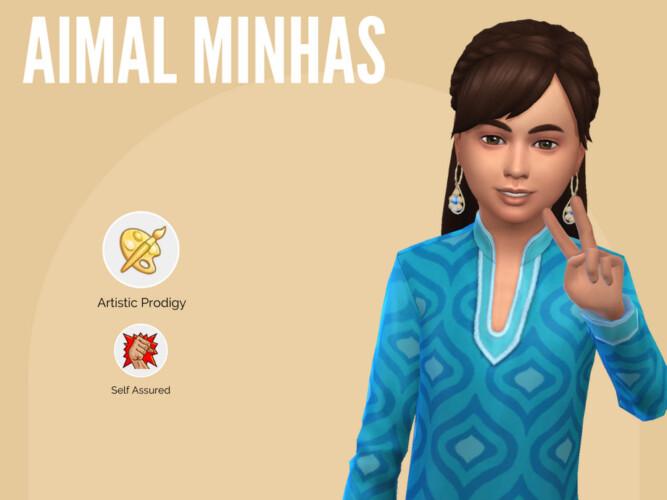 Aimal Minhas By Mini Simmer