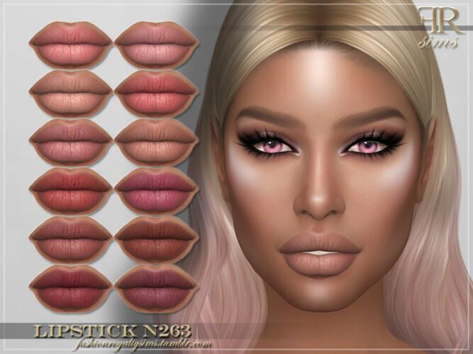 Frs Lipstick N263 By Fashionroyaltysims