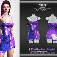 Metallic Dress Bd489 By Busra-tr