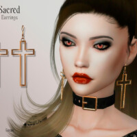 Sacred Earrings By Suzue