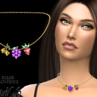 Summer Berrys Necklace By Natalis