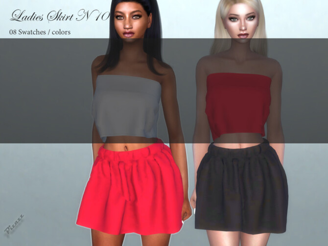 Sims 4 Ladies Skirt N 101 by pizazz at TSR