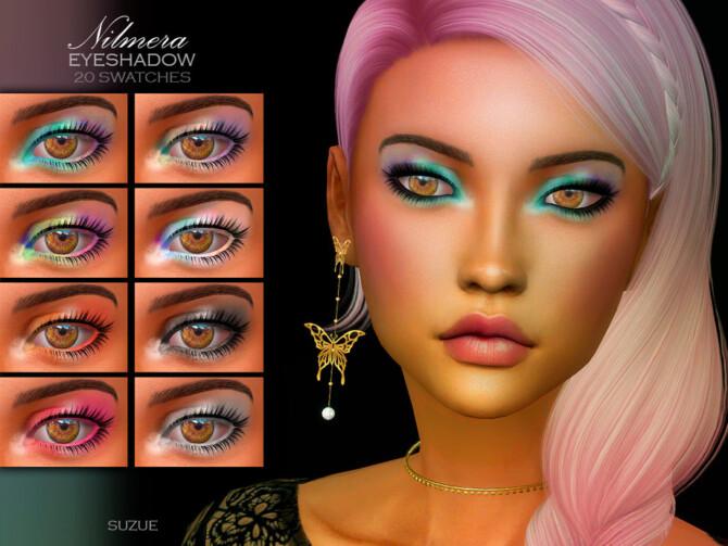 Sims 4 Nilmera Eyeshadow N9 by Suzue at TSR