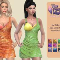 The Perfect Night Dua Lipa Dress By Birba32