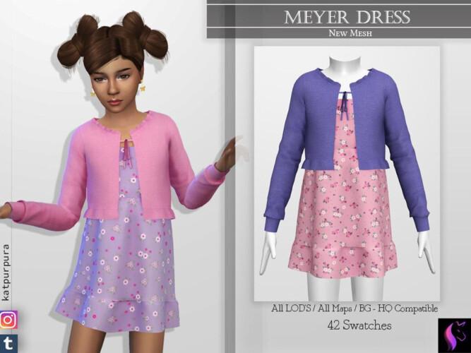 Meyer Dress By Katpurpura