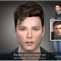 Supernatural Sim Dean Winchester By Bakalia