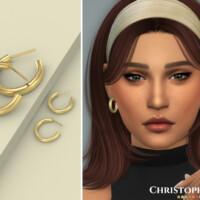 Luisa Earrings By Christopher067