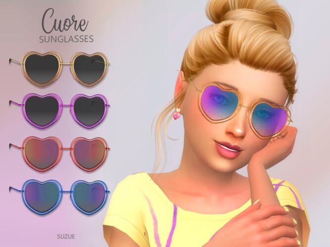 Cuore Sunglasses Child By Suzue