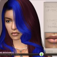 Maylin Lower Lip Piercing By Playerswonderland