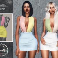 Pastel Dress By Camuflaje