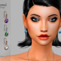 Crystal Earrings By Suzue