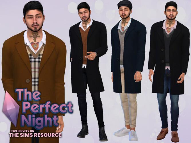 The Perfect Night Vernon Coat By Mclaynesims