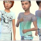 Shirt Male Child By Bukovka