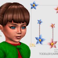 Gentle Flower Earrings Toddler By Dailystorm
