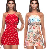 Summer Floral Dresses By Saliwa