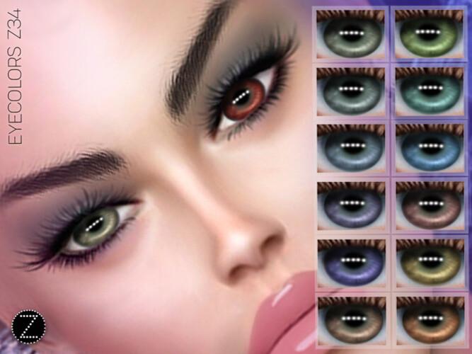 Eyecolors Z34 By Zenx