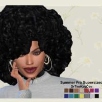 Summer Fro Supersized Hair By Drteekaycee