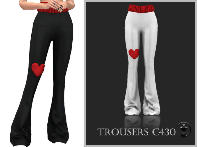 Trousers C430 By Turksimmer