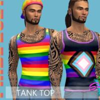Pride21 Tank Top By Simmiev
