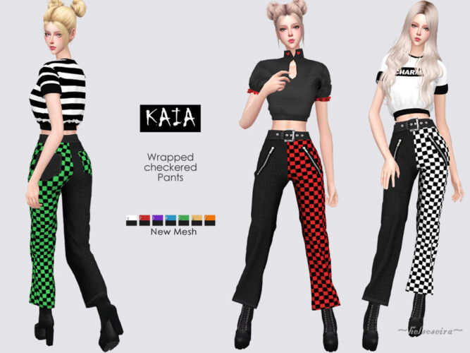 Kaia Cropped Pants By Helsoseira