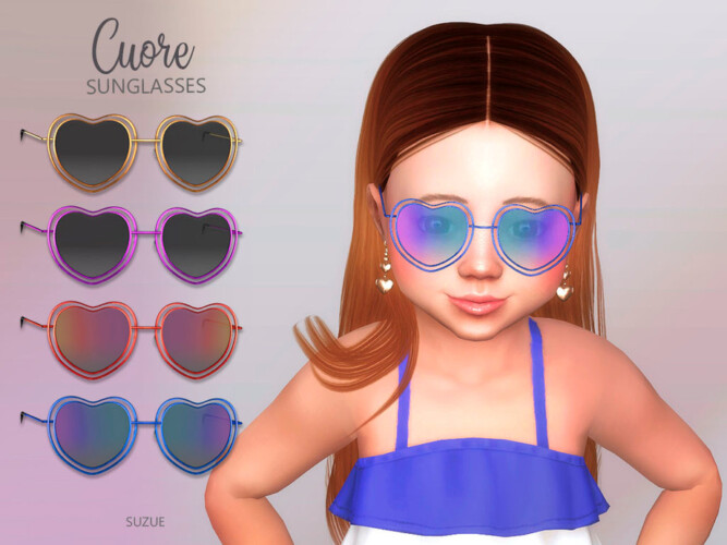 Cuore Sunglasses Toddler By Suzue