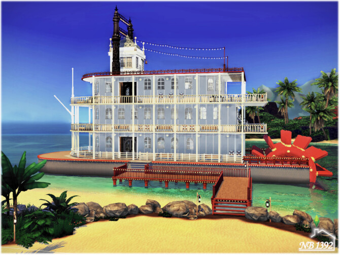 Sims 4 The Perfect Night Restaurant Ship by nobody1392 at TSR