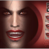 Vampire Teeth By Bakalia