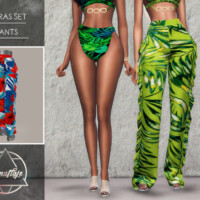 Vibras Set Pants By Camuflaje